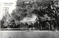 St Johns Church, Latimer Square, Christchurch, ca 1916