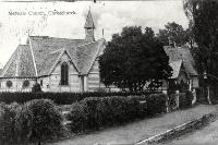 The original St Mary's Church, Merivale land, Christchurch, built in 1866