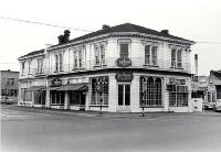 Victorian Café Gallery, corner Oxford Terrace and Montreal Street, Christchurch, 11 October 1968
