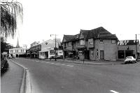Oxford Tce from beyond Cashel & Lichfield Streets, Christchurch, 11 October 1968