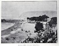 Sumner in 1900, already a favourite holiday resort