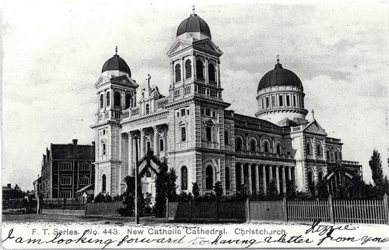 Photograph of Cathedral of the Blessed Sacrament ca. 1905