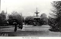 Peacock Fountain, Botanic Gardens, Christchurch, 191?