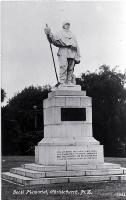 Robert Falcon Scott memorial, Scott Reserve, corner of Worcester Boulevard and Oxford Terrace, Christchurch