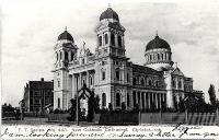 Cathedral of the Blessed Sacrament, Barbadoes Street, CHristchurch ca. 1905