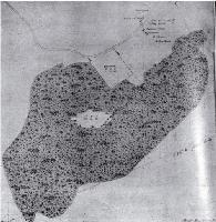 Part plan of Messrs Deans' reserve at Riccarton, dated 22 Aug. 1849