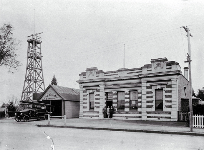 The Rangiora Fire Station, North Canterbury