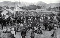 The implements display, Canterbury Metropolitan Agricultural Show, Christchurch [1901]