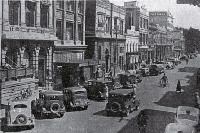 Hereford Street, Christchurch, in 1936
