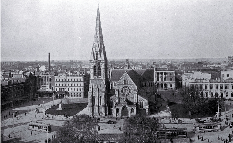 Christchurch Cathedral, Cathedral Square, Christchurch