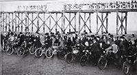 The Christchurch Motor and Cycling Club's motor races on New Brighton Beach, Christchurch [1905]