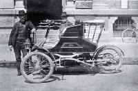 Newspaper enterprise : : W G Shaw, a runner with the Lyttelton Times Company with a brand new motor car.