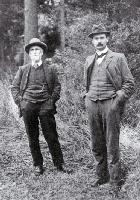 Dr Cockayne and Harry Ell [1904]