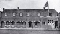 The Press Office, Cashel Street, Christchurch. ca. 1900