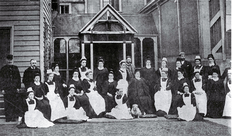 Nursing staff at Christchurch Hospital