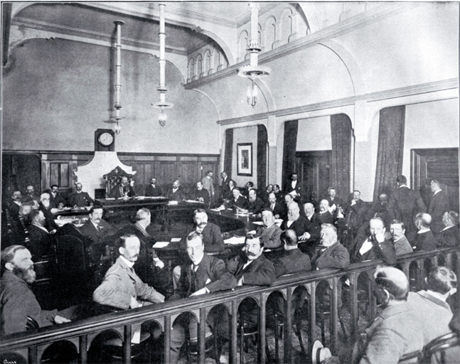 The first meeting of the Greater Christchurch Council