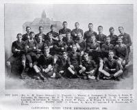 The team of Canterbury Rugby Union representatives for 1896
