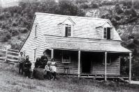 Captain Thomas White (1810-1896) and family, Pigeon Bay, Banks Peninsula