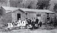 The school at Jacksons, West Coast Road, West Coast [1897]