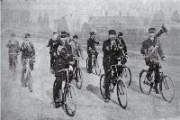 The Bicycle Band. ca. 1900