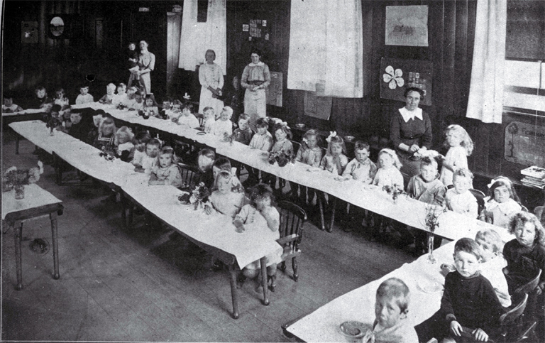 The Montessori system in operation at the Sunbeam Kindergarten at St Albans