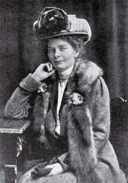 Photograph of  Miss M.O. Stoddart, 1909