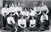 Digby's Ladies' Hockey Club : B Team, winners of the President's Competition, Christchurch. [1909]