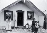 The only Moriori meeting-house in Maori style [189-?]