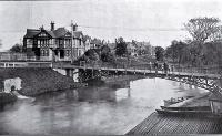 The hospital bridge over the River Avon, Christchurch [1912]