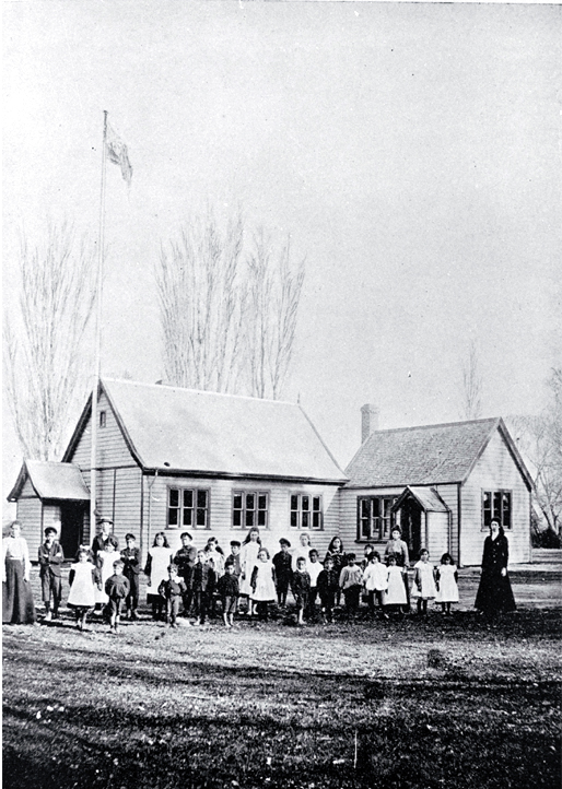 The native school at Kaiapoi