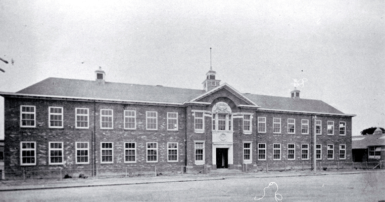 The Christchurch Technical College building erected in 1906/07 as a memorial to Richard Seddon