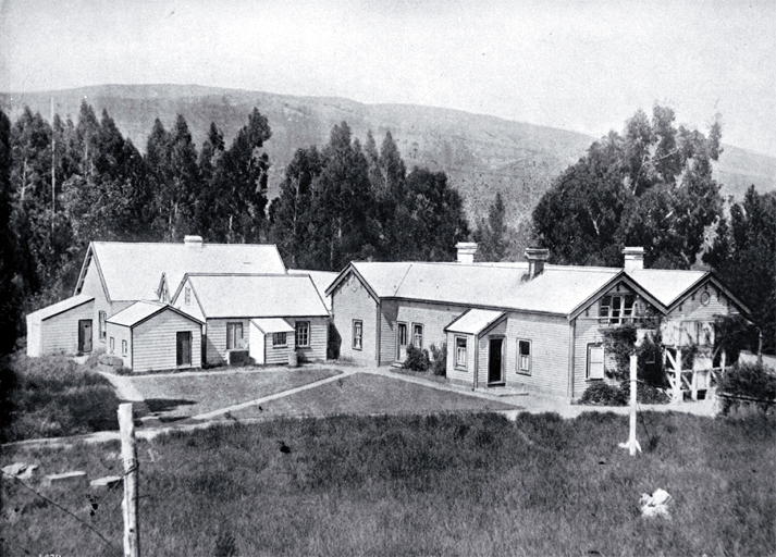 Shearers' accommodation on a Canterbury station