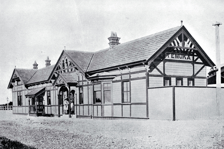The Temuka railway station