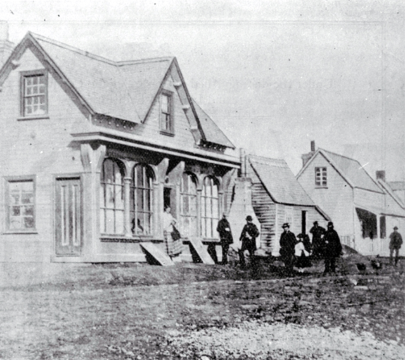 The Canterbury Standard Office, Hereford Street west, Christchurch