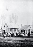 Photograph of The native school at Kaiapoi [1903]