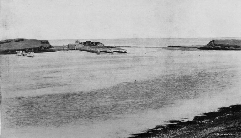 The Culvert And Outlet At Lake Ellesmere, 1909