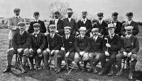 The New Zealand Golf Championship meeting at Christchurch. The Teams which contested for the Hanmer Shield. The weekly press, 10 Sept. 1902, p. 6