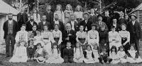 Mr Humm's family gathering at Waddington 25 December 1903
