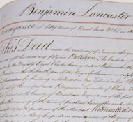 Will of Benjamin Lancaster