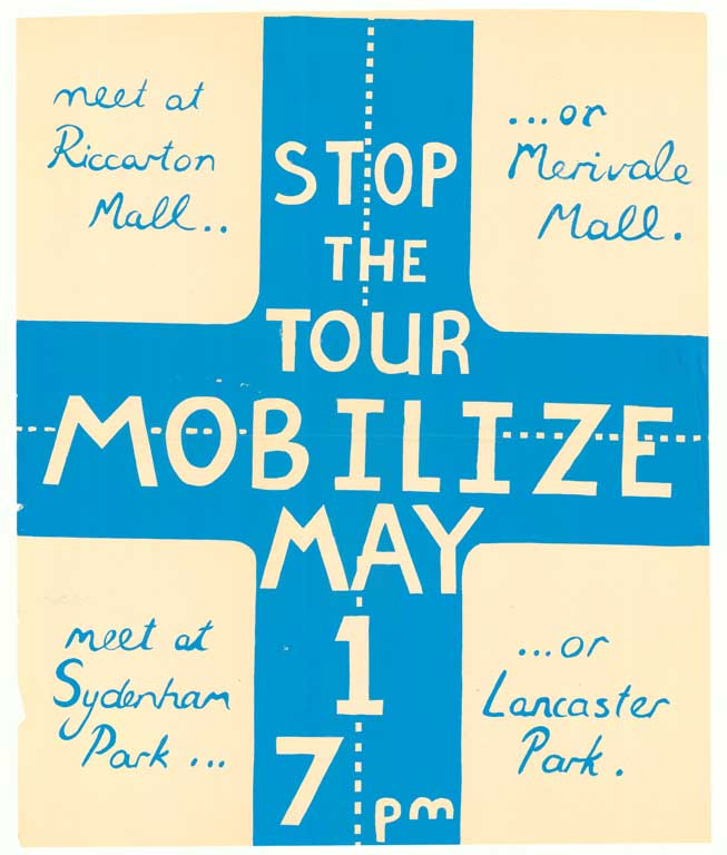Stop the Tour. Mobilise May 1st