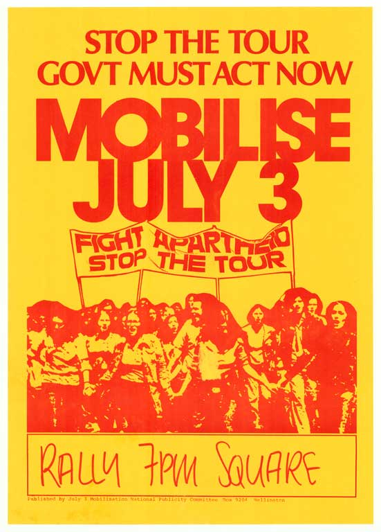 Stop the Tour. Govt Must Act Now. Mobilise July 3.