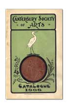 Canterbury Society of Arts Catalogues, 1881 - 1914