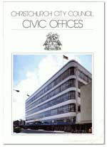 Cover of Civic Offices booklet