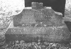 Mary Vennell's grave