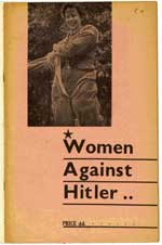 Cover of women against Hitler