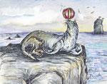 Seal dog