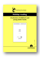 Holiday Reading 2001 cover