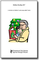 Holiday Reading 2007 cover