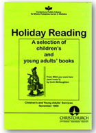 Holiday Reading 1999 cover