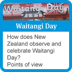 Waitangi day: how does New Zealand observe and celebrate Waitangi Day? points of view.
